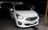 Selling White Mitsubishi Mirage G4 2018 Automatic Gasoline at 10033 km