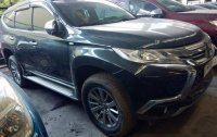 Black Mitsubishi Montero sport 2017 for sale in Quezon City