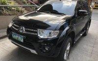 Black Mitsubishi Montero Sport 2014 at 69900 km for sale