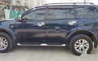 Blue Mitsubishi Montero Sport 2014 at 40000 km for sale
