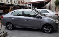 Grey Mitsubishi Mirage g4 2015 at 50000 km for sale
