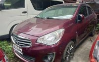 Sell Purple 2017 Mitsubishi Mirage g4 at 17000 km