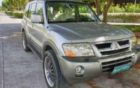 Silver Mitsubishi Pajero 2005 Automatic Diesel for sale