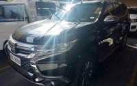 Black Mitsubishi Montero sport 2016 for sale Quezon City
