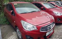 Red Mitsubishi Mirage g4 2016 at 58000 km for sale
