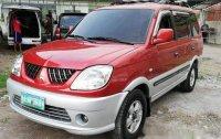 Selling Red Mitsubishi Adventure 2004 in Cebu