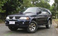 Sell Blue 2005 Mitsubishi Montero Sport in Quezon City