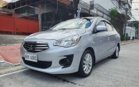Silver Mitsubishi Mirage G4 2017 for sale in Quezon City