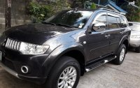 Sell Black 2011 Mitsubishi Montero sport in Quezon City
