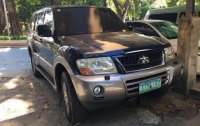 Black Mitsubishi Shogun 2003 for sale in Automatic