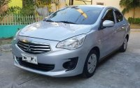Silver Mitsubishi Mirage g4 2015 for sale in Automatic