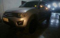 Selling Silver Mitsubishi Strada 2014 in Manila