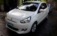 Selling White Mitsubishi Mirage 2013 in Manila