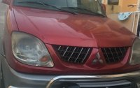 Red Mitsubishi Adventure 2006 for sale in Manual