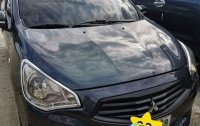 Black Mitsubishi Mirage 2014 for sale in Manila