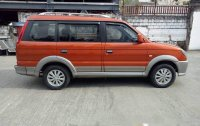 Sell Orange 2017 Mitsubishi Adventure Manual Diesel