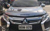 Blue Mitsubishi Montero Sport 2017 for sale in Quezon City