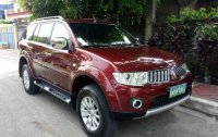 Sell Red 2011 Mitsubishi Montero Sport Automatic Diesel