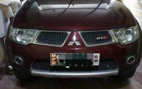 Red Mitsubishi Montero Sport 2012 for sale in Bacoor