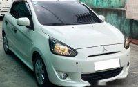 Sell White 2013 Mitsubishi Mirage at 42000 km