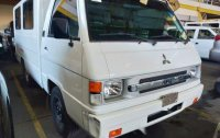 White Mitsubishi L300 2018 for sale in Quezon City