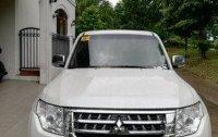 White Mitsubishi Pajero 2015 at 38000 km for sale