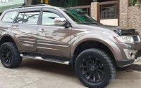 Selling Brown Mitsubishi Montero Sport 2013 Automatic Diesel