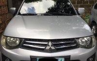 Selling Silver Mitsubishi Strada 2010 in Pulilan