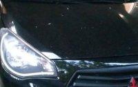 Selling Black Mitsubishi Mirage 2017 in Legazpi