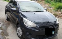 Black Mitsubishi Mirage 2014 for sale in Pasig