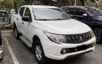 White Mitsubishi Strada 2016 for sale in Quezon City