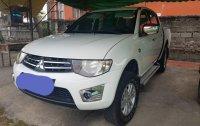 White Mitsubishi Strada 2014 for sale in Manila