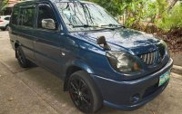 Blue Mitsubishi Adventure 2007 for sale in Manual