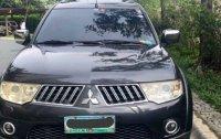 Black Mitsubishi Montero 2010 for sale in Automatic