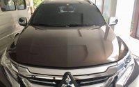 Selling Brown Mitsubishi Montero sport 2017 in Quezon City