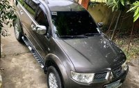 Selling Grey Mitsubishi Montero sport 2013 in Cabanatuan
