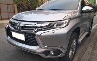 Silver Mitsubishi Montero sport 2017 for sale in Manual