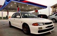Sell White 1993 Mitsubishi Lancer in Pateros