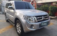 Silver Mitsubishi Pajero 2013 for sale in Manila