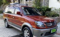 Red Mitsubishi Adventure 2012 for sale in Manual
