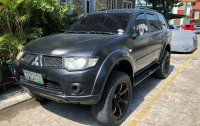 Black Mitsubishi Montero 2011 for sale in Automatic