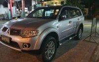 Silver Mitsubishi Montero 2012 for sale in Automatic