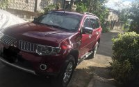 Selling Red Mitsubishi Montero sport 2011 in Manila