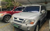 Silver Mitsubishi Pajero 2003 for sale in Malabon