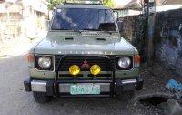 Selling Silver Mitsubishi Pajero 1990 SUV / MPV in Cauayan
