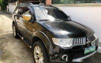 Black Mitsubishi Montero sport 2012 for sale in Manila