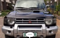 Black Mitsubishi Pajero 2003 for sale in Manila