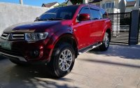 Selling Red Mitsubishi Montero 2014 in Manila