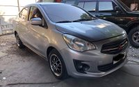 Silver Mitsubishi Mirage g4 2015 for sale in Quezon City