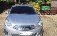Selling Grey Mitsubishi Mirage 2016 in Manila